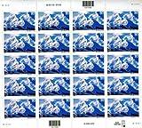 Alaska Mount Mckinley Sheet of Twenty 80 Cent Airmail Stamps Scott C137