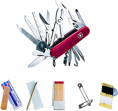 Victorinox SwissChamp SOS Set Swiss Army Knife with Free Pouch