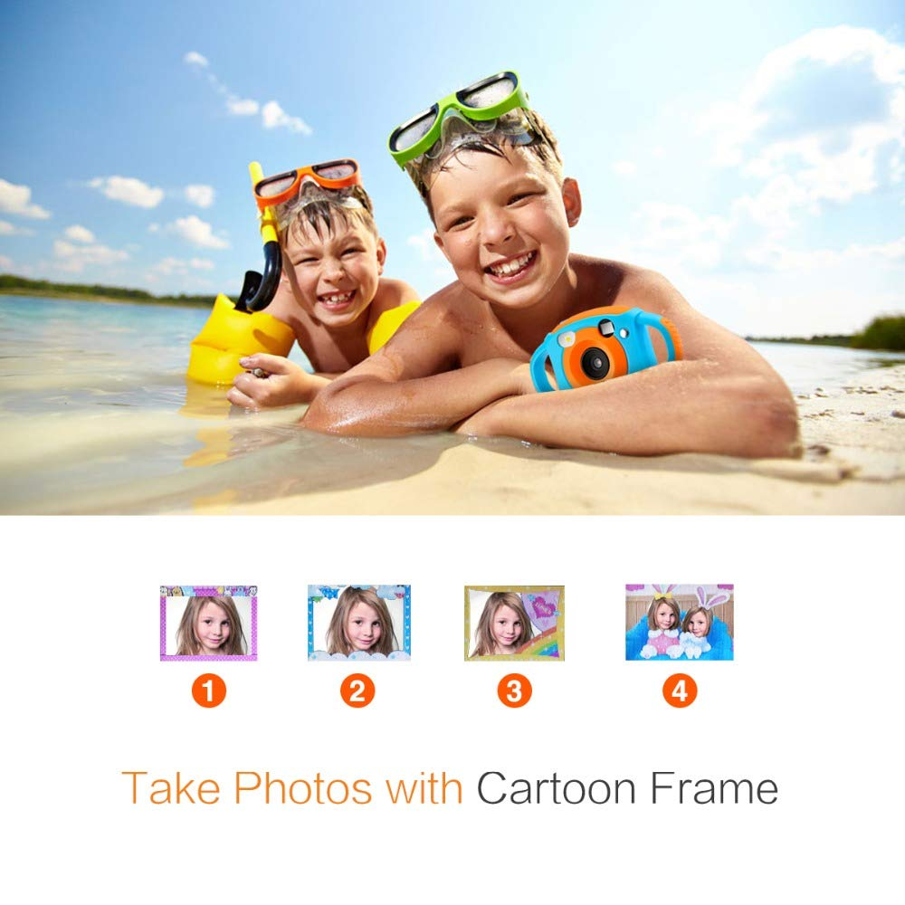 RONSHIN Kids Camera, Mini Kid Cameras 5MP HD Projection Digital Camera Portable Cute Neck Child Photography Video Camera by RONSHIN