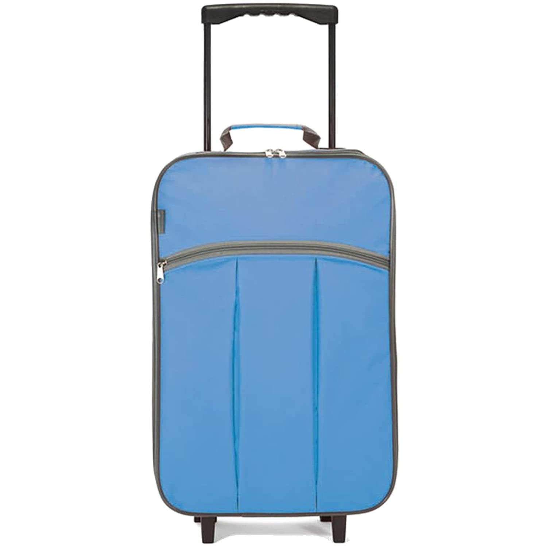 Maleta cabina plegable especial low cost Azul