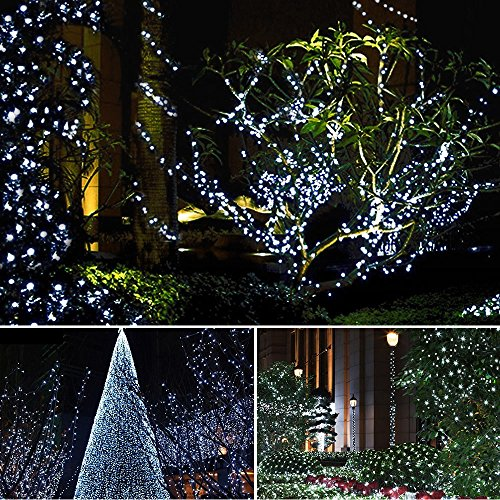 Dolucky-Solar-String-Lights-72ft-200-LED-2-Mode-Waterproof-String-Lights-OutdoorWhite