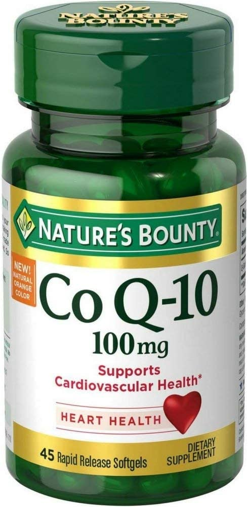 Nature's Bounty Co Q-10 100mg 45 Rapid Release Softgels (Pack of 2)