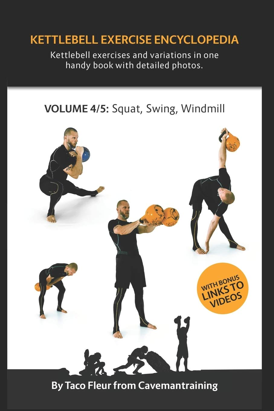 Kettlebell Exercise Encyclopedia VOL. 4  Kettlebell Squat Swing And Windmill Exercise Variations