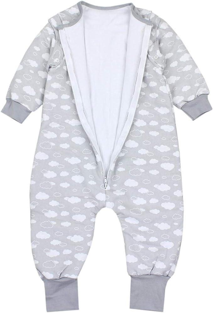 Gr/ö/ße Farbe Sterne Blau//Dunkelblau TupTam Baby Winter Schlafsack mit Beinen und F/ü/ßen 92-98