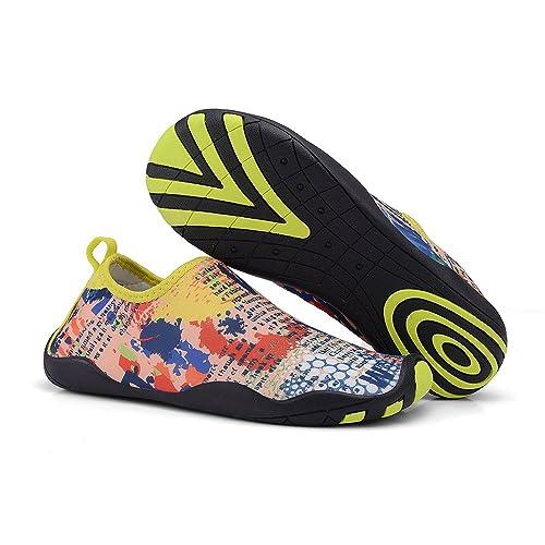 Water Shoes Multifunctional Quick-Dry Barefoot Flexible Skin Aqua Socks For Beach Swim Surf Yoga Exercise