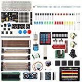 Starter Kit for Raspberry Pi 3/2/Zero Model B/B+ with GPIO Breakout Wires for Beginners Learning Projects with Tutorial Arduino Uno Mega2560 Nano Compatible