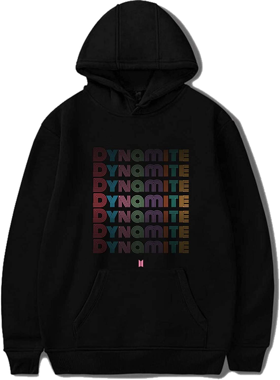 CHAIRAY Kpop Album Dynamite Hoodie Jimin Jungkook Suga V Sweatshirt