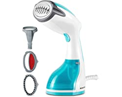 BEAUTURAL Steamer for Clothes, Portable Handheld Garment Fabric Wrinkles Remover, 30-Second Fast Heat-up, Auto-Off, Large Det
