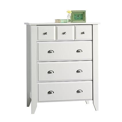 Amazoncom Modern Four Drawer Dresser Contemporary Elegant