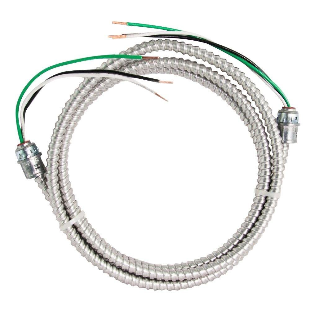12 ft. 12-2 STR CU MC Aluminum Whip