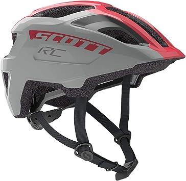 Scott 275232, Casco de Bicicleta Unisex para niño, Vogue Silver ...