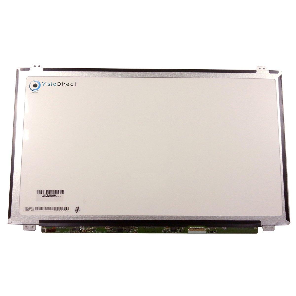 VISIODIRECT Bildschirm LCD Display 15.6LED typ LP156WF6 SPB1 SPD1 SPB2 SP B1 D1 B2 1920x1080 30 pin