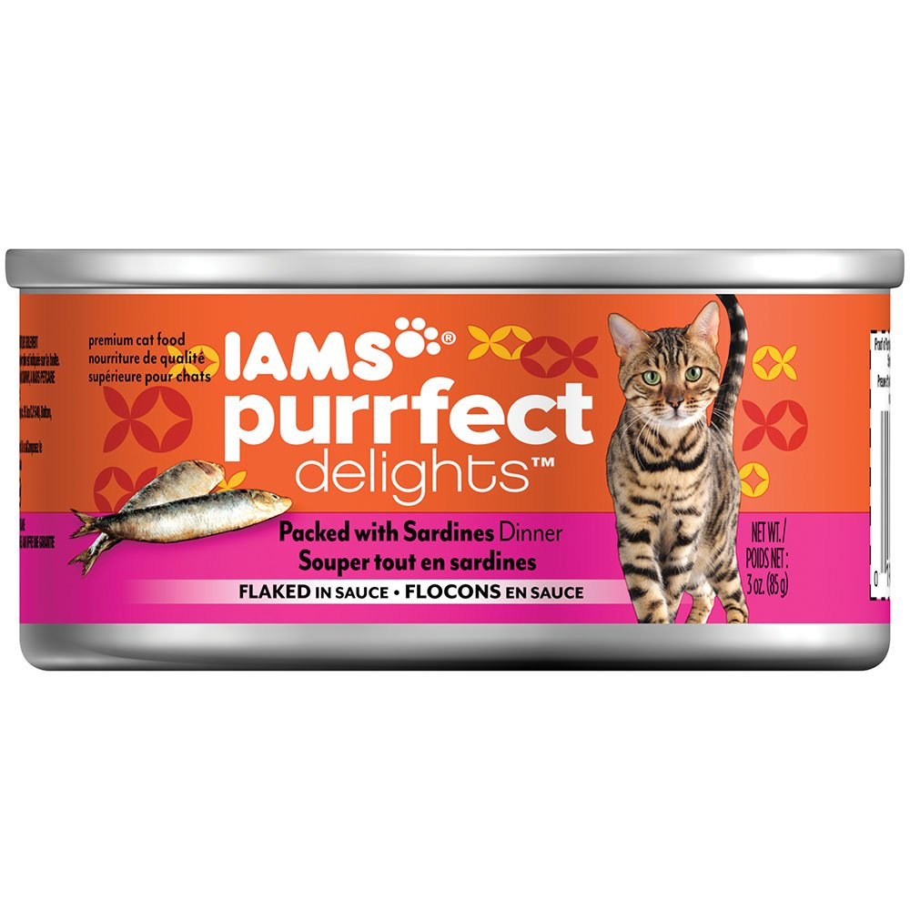 IAMS Purrfect Delights Flaked Adult Wet Cat Food