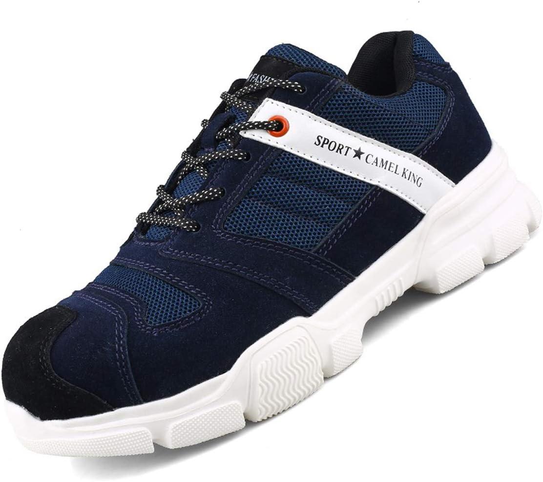 SFOXL Zapatos de Seguridad Mujer, con Punta de Acero Antideslizante Zapatillas de Trabajo S1P Zapatos Seguridad Unisex-Adulto: Amazon.es: Zapatos y complementos