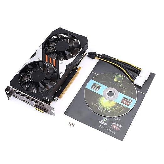 GTX950-2/128 - Tarjeta gráfica para juegos con ventilador de ...