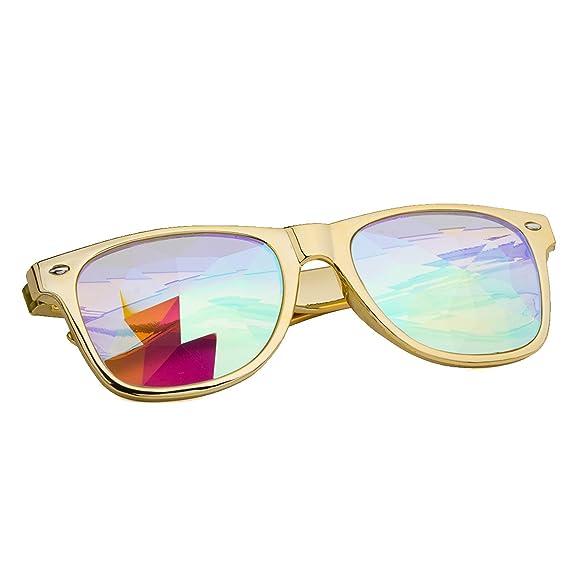 DODOING - Gafas de Sol - para Mujer Amarillo Talla única ...