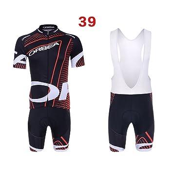 41c58c307b32 logas Completo Abbigliamento Ciclismo Uomo Estive Magliette Ciclismo Maniche  Corte + Pantaloncini Ciclismo Uomo Abbigliamento Ciclismo MTB: Amazon.it:  Sport ...
