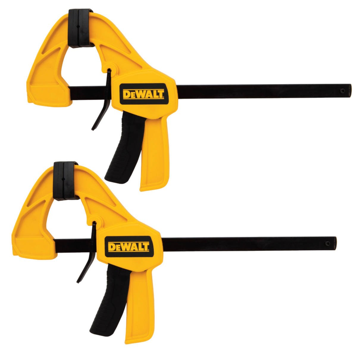 DEWALT DWHT83158 Medium Trigger Clamp with 12 inch Bar 2pk