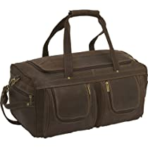 Le Donne Leather Distressed Leather Duffel