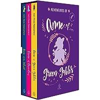 Adventures of Anne of Green Gables - Box com 3 livros. Versão em inglês