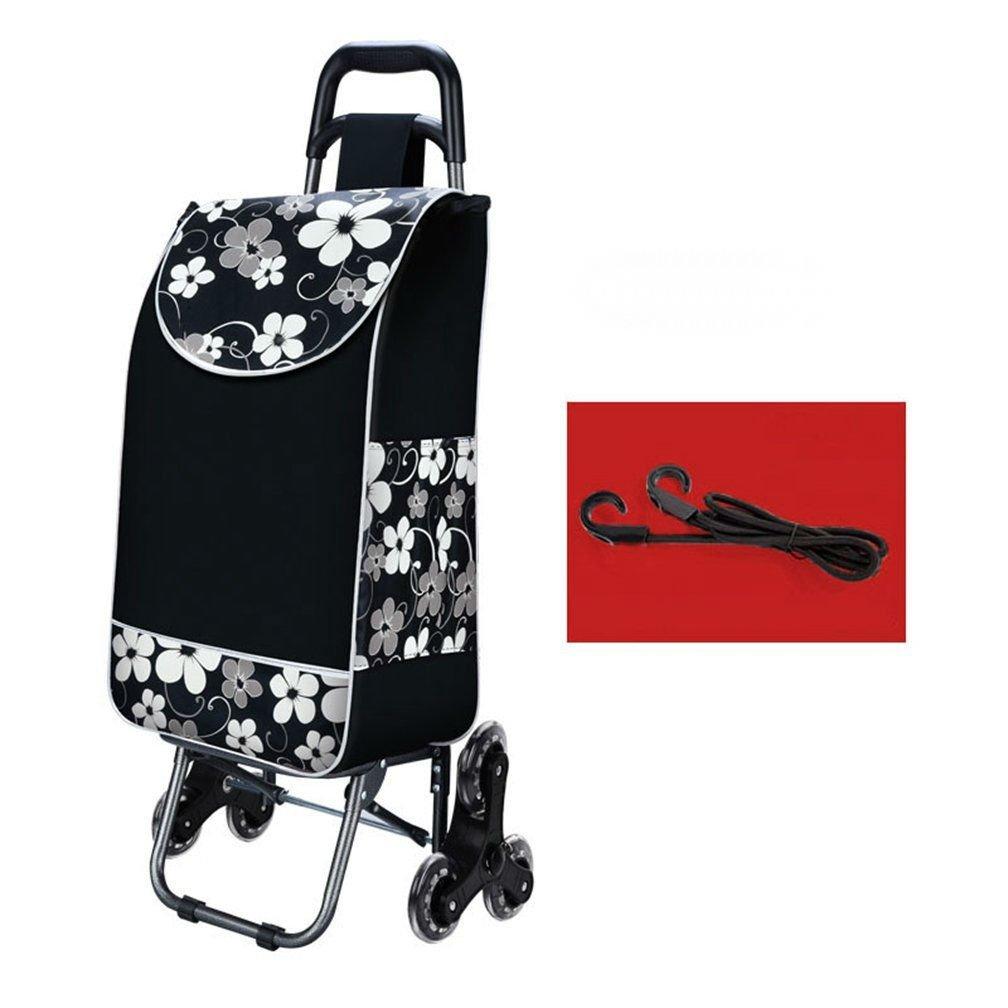 Arong ショッピングカート 重い荷物も楽々移動 防水 軽量 大容量 3輪付き キャリー ショッピングカート B073Y96BF8 3 3