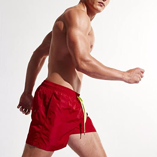 35269ea49a Amazon.com: WuyiMC Men's Shorts Swim Trunks Quick Dry Beach Shorts for  Surfing Running Swimming: Clothing