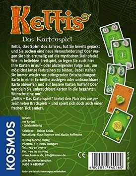 KOSMOS 7401600 Keltis - Juego de Cartas (en alemán): Amazon.es: Juguetes y juegos