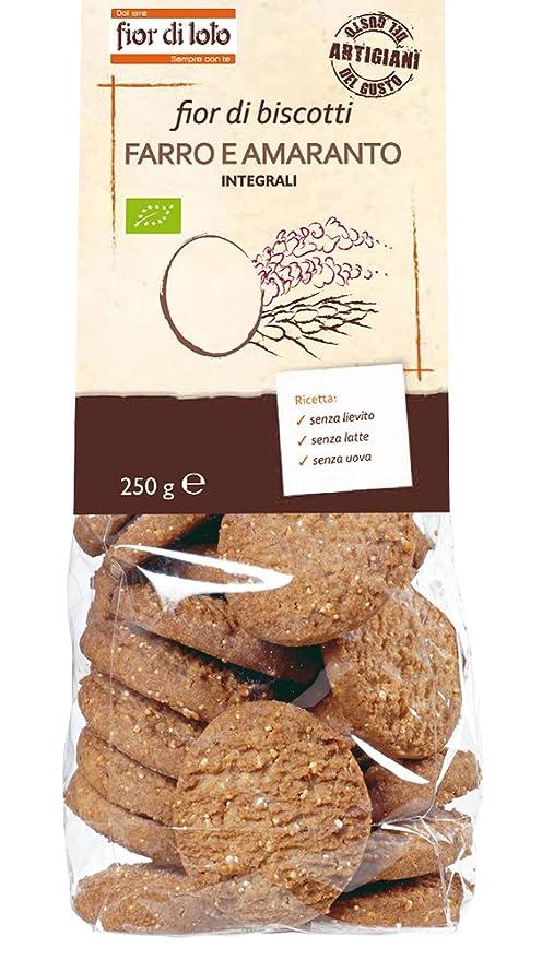 Amazon.com: Fior Di Espelta Cookies y Amaranth orgánico 250 ...