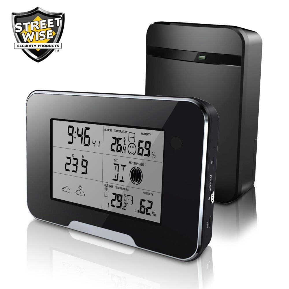 Streetwise Working Weather Station HD 1080p Hidden Wifi Spy Camera DVR