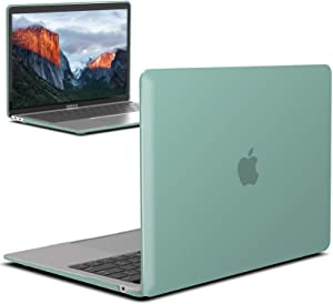 IBENZER New 2020 MacBook Air 13 inch Case M1 A2337 A2179 A1932, Plastic Hard Shell Case for Apple Mac Air 13 Retina Display with Touch ID (2018-2020), Green, MMA-T13GN