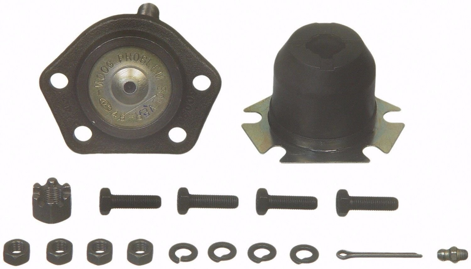 PartsW 4 Piece Kit Front Upper and Lower Ball Joints