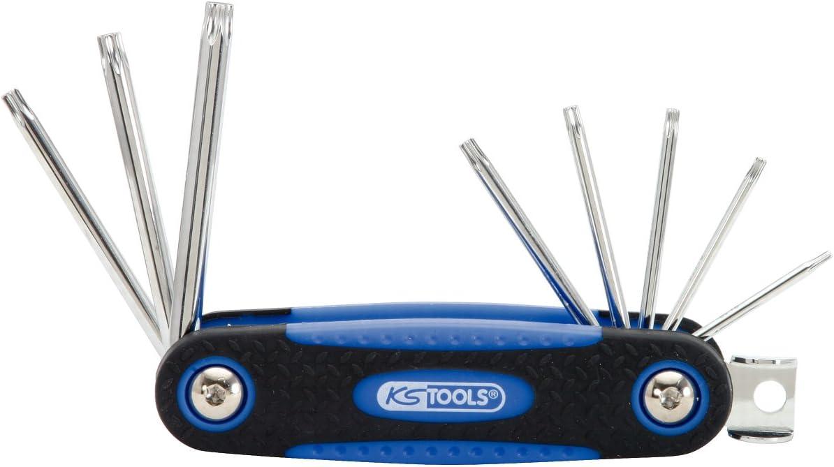con Agujero Frontal Set de 8 Piezas KS Tools 158.3530 Pack Llaves Allen Torx8-40 Chrome