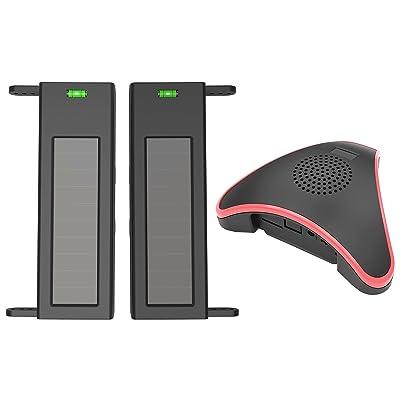 HTZSAFE Solar Wireless Driveway Alarm System