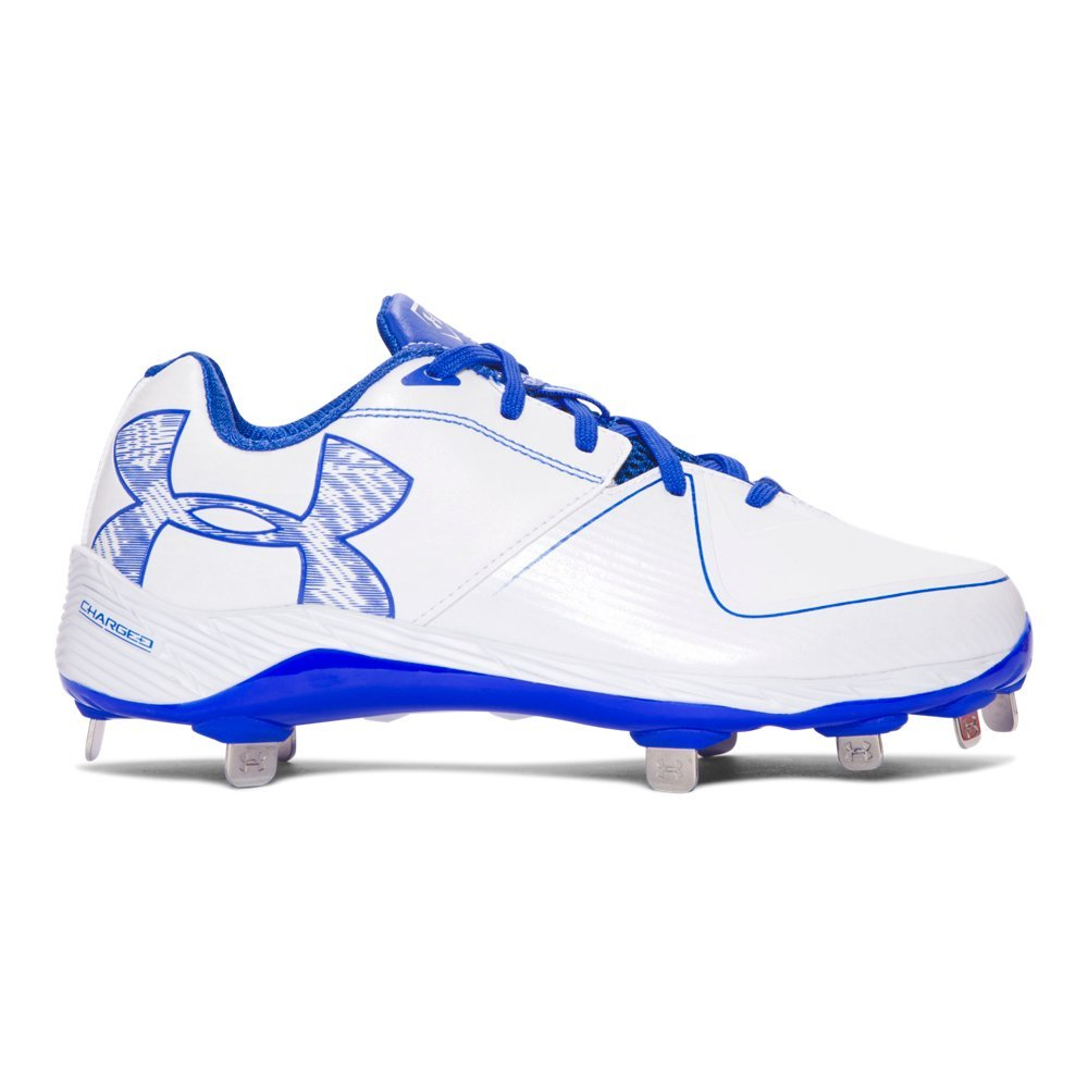 Under Armour Women's UA Glyde ST White/Team Royal 8.5 B US