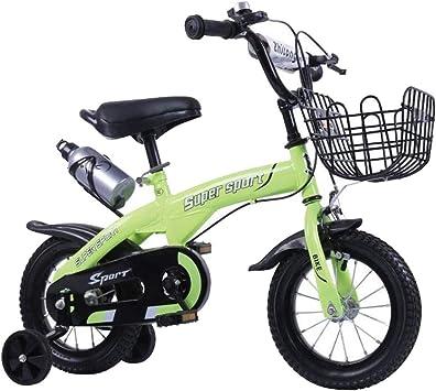 K-G Bicicleta Infantil Bicicletas 12/14/16/18 Pulgadas 3-10 Años ...