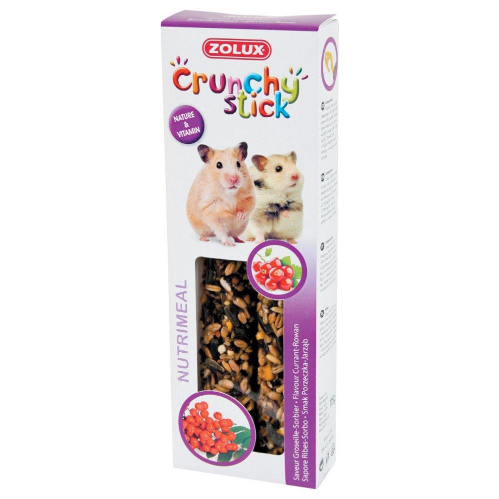 Zolux Crunchy Stick Friandise pour Hamster Groseille/Sorbier 115 g 3336022092356