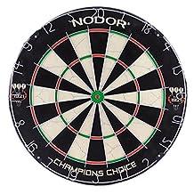 Nodor 60015 Champions Choice Practice Bristle Dartboard