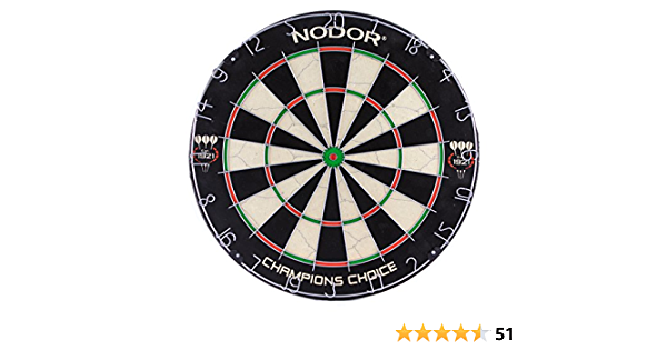Used by Pro to Nodor Champion/'s Choice Practice Sef-Adhesive Bristle Dartboard