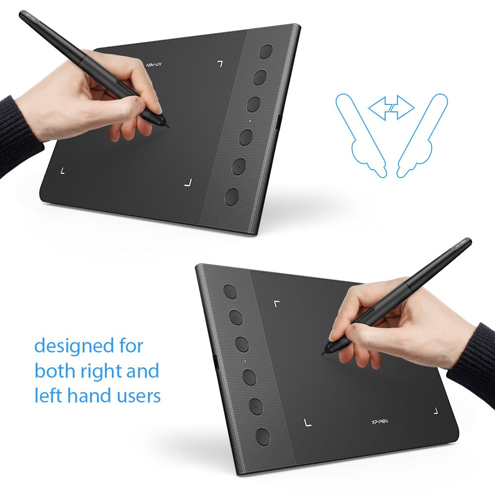 XP-Pen G640S Graphic Tablet Review : Design for OSU