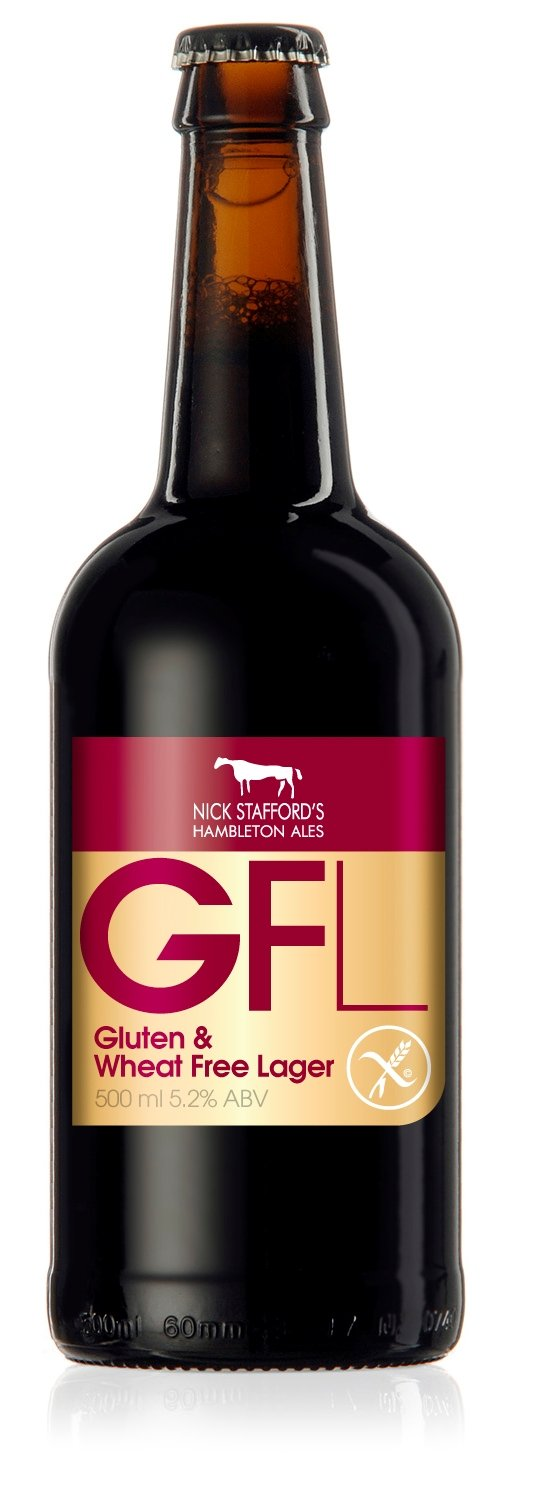 Hambleton Ales Gfl Gluten Free Lager (52%) 500ml Bottles 16 Pack:  Amazon: Grocery