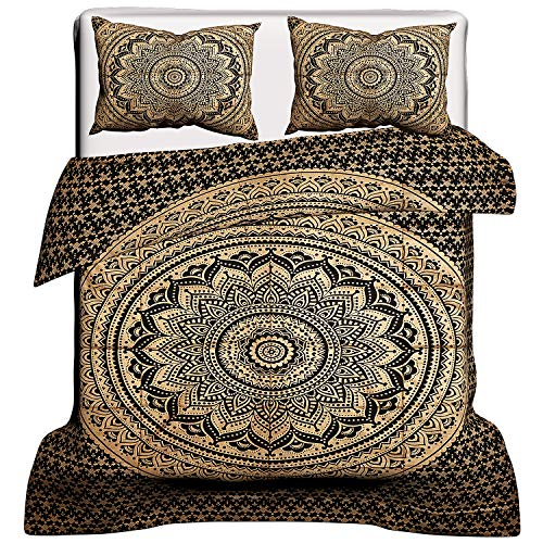 Janki Creation Indian Bohemian Mandala Full Size Doona Hippi