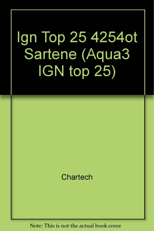 Ign Top 25 4254ot Sartene (Aqua3 IGN Top 25): Chartech ...