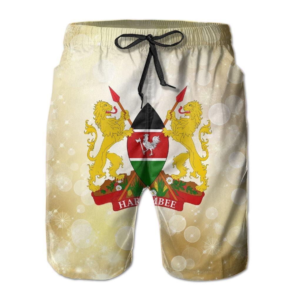 Qinf New Cartoon Fashion Britain Shorts Beach Casual Shorts For Man