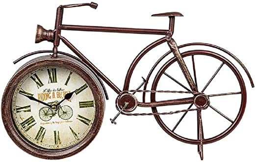 Past Times - Reloj de Bicicleta Retro: Amazon.es: Hogar