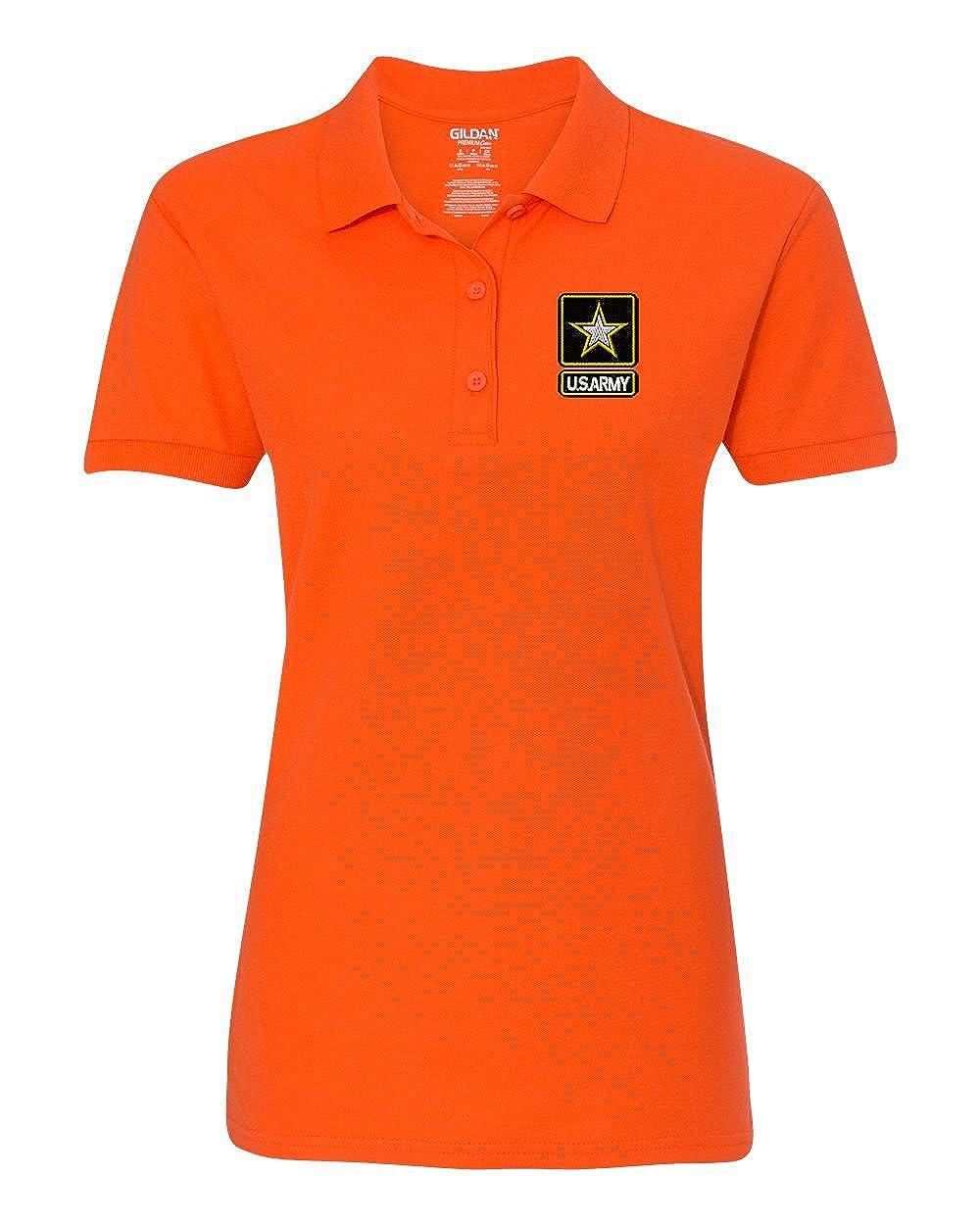 Unlimited Embroidery SHIRT レディース B071S4PYMN XL|オレンジ オレンジ XL