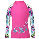 TFJH E Little Girls Swimsuit UPF 50+ UV Two Piece