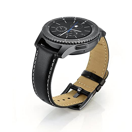 6 opinioni per Cinturino Samsung Gear S3 Classic/Frontier,Sundaree Cinturini di Ricambio Pelle