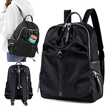 376ebb268c8a Women Fashion Water Resistant Nylon Backpack Anti--theft Travel Rucksack  Satchel Casual Daypack Girls