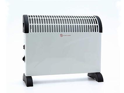 Convector Calefacción, Mobile térmica, 3 niveles de calor (750/1250/2000