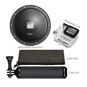 Dome Puerto para GoPro para Hero 6 5 con Carcasa Impermeable ...